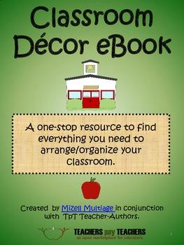 Classroom Decor eBook