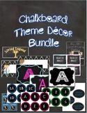 Classroom Decor in Chalkboard Theme