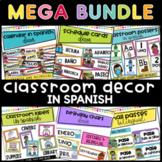 Classroom Decor in Spanish MEGA BUNDLE