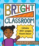 Rainbow Classroom Decor Bundle / Bright Colors / Chevron / Polka Dots / Stripes