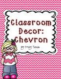 Classroom Decor_Chevron