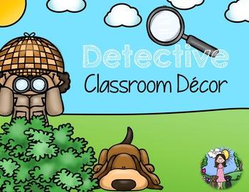 Classroom Decor_Detectives