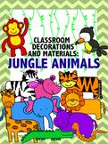 Classroom Decoration: Jungle Animals Theme