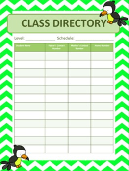 Classroom Decoration: Jungle Animals Theme