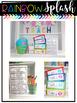 Classroom Decoration {Rainbow Splash} EDITABLE
