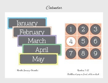 Classroom Decorations - Classic Apricot Theme Pack
