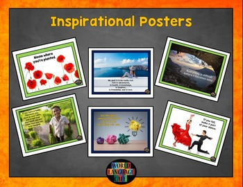 Classroom Decorations, Inspirational Signs