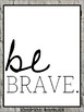 Classroom Decorations: Kind and Brave