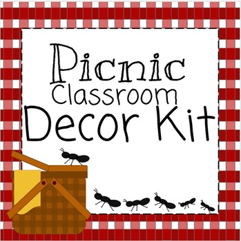 Classroom Decoration Kit- Picnic Theme