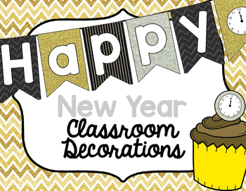 Classroom Decorations - New Year