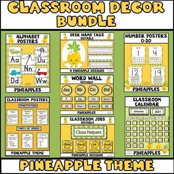Classroom Decorations Pineapple Theme