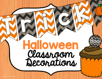 Classroom Decorations for Halloween