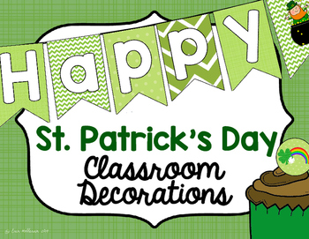 Classroom Decorations for St. Patrick's Day