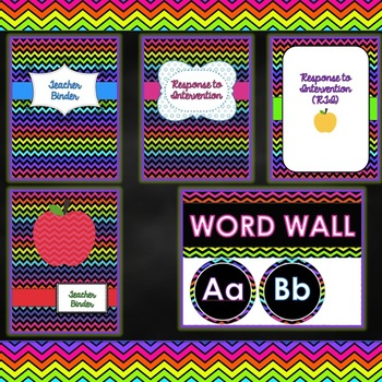 Classroom Deocr - Bright Colors Theme