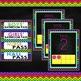 Bright Color Themed Classroom Decor