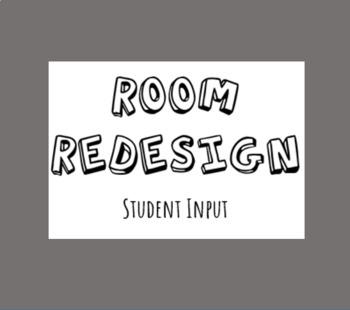 Classroom Design Student Input Form