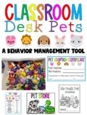 Classroom Desk Pets: A Behavior Management (and Incentive) Tool