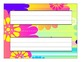 Classroom Desktop Name tag Nameplate Collection - 20 Full-Color Designs