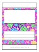 Classroom Desktop Name tag Nameplate Collection - 30 Trifold full-color designs