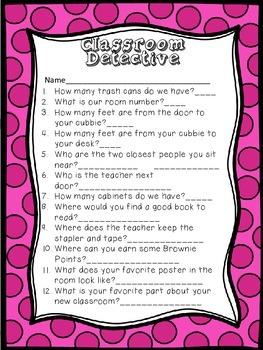 Classroom Detective