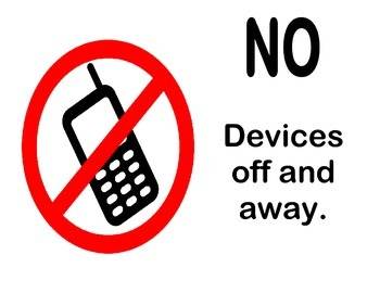 Classroom Device Use Posters - English