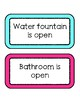 Classroom Direction Cards