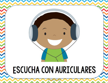 Classroom Directions Picture Cards  {BILINGUAL}