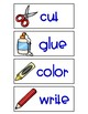 Bilingual Classroom Directions in English and Spanish
