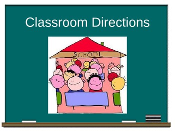 Classroom Directions in Latin