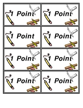 Classroom Discipline Points System