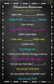 Classroom Discourse Chart
