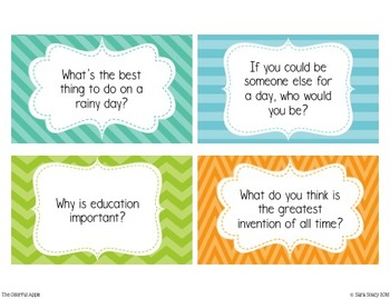 Classroom Discussion Questions *Free Sampler*