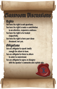 Classroom Discussion Rules