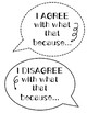 Classroom Discussion Sentence Stems