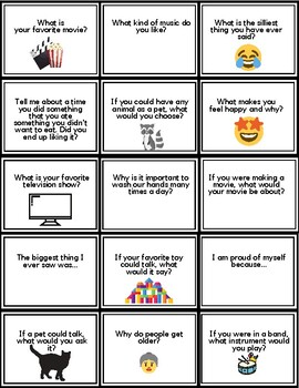 Classroom Discussion Starters