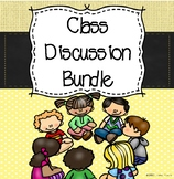 Classroom Discussion and Oral Language Bundle