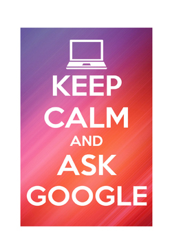 "Classroom Display ""Ask Google"" Poster"