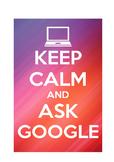 "Classroom Display ""Ask Google"" Poster"