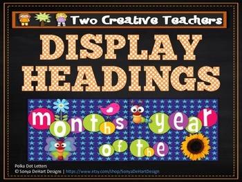 Classroom Display Banners