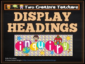 Display Banners Classroom Subjects