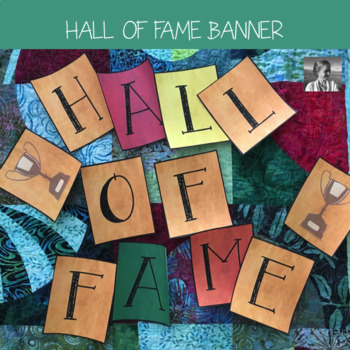 Classroom Display: Hall of Fame Banner