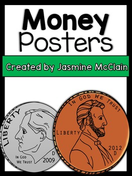 Classroom Displays: Money Posters