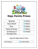 Classroom Dojo Materials
