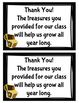 Classroom Donation Requests for Back To School Night (Pirate Themed)