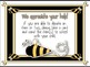 Classroom Donations Bee Theme {A Creative Way to Ask for Classroom Donations}
