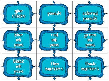 Classroom Donations Bright Colors {Creative Way to Ask for Classroom Donations}