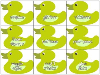 Classroom Donations Duck Theme {A Creative Way to Ask for Classroom Donations}