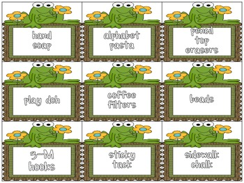 Classroom Donations Frog Theme {A Creative Way to Ask for Classroom Donations}
