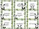 Classroom Donations Panda Theme {A Creative Way to Ask for