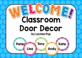Classroom Door Decor - Back to School {FREE}